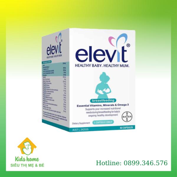 Viên uống Elevit sau sinh Breastfeeding của Úc (60 viên)