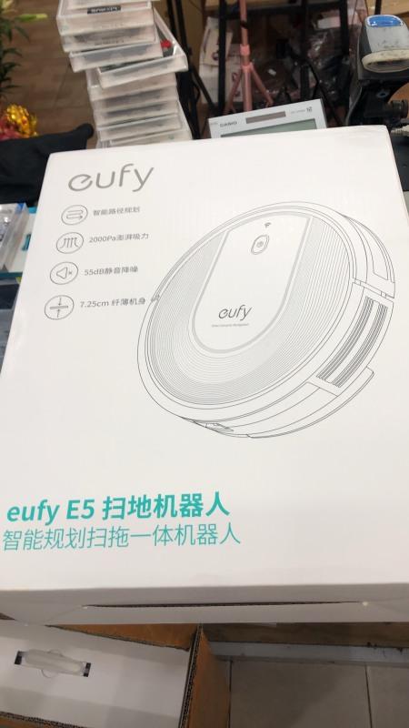 Robot hút bụi lau nhà thông minh Anker Eufy E5( Bản nội địa) sử dụng tiếng anh và tiếng trung