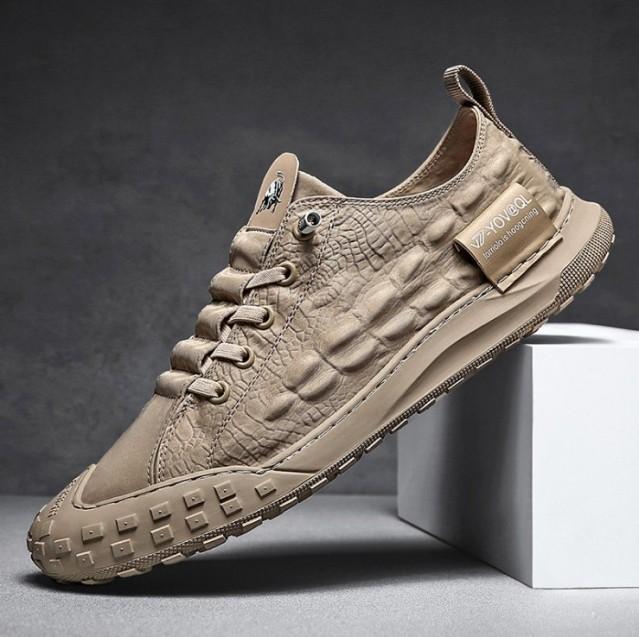 Giày lười nam- giày mọi nam  thể thao Minh Hà Shoes SP - 112 ( xám) giá rẻ