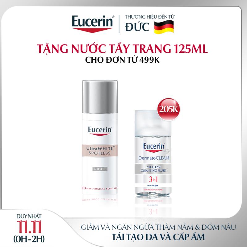 Kem Dưỡng Trắng Da Ban Đêm Eucerin UltraWHITE+ SPOTLESS Night 50ml giá rẻ