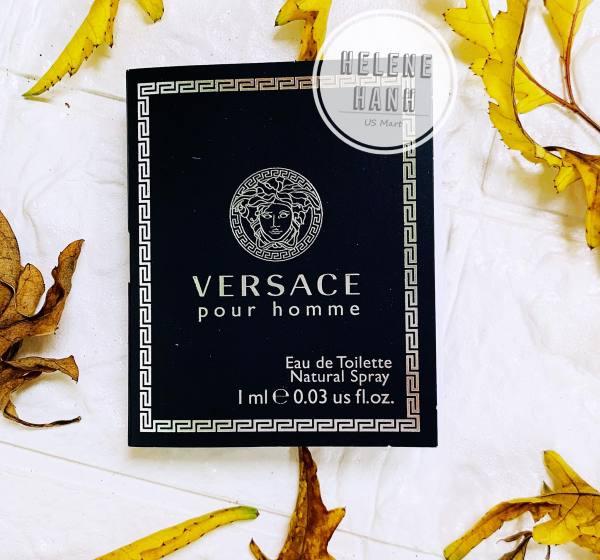 [AUTH] Nước hoa Versace pour homme 1ml