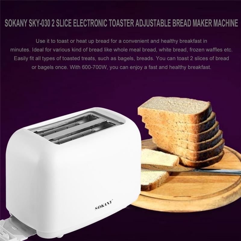 Máy nướng bánh mì, bánh mỳ sokany- 2 tầng với 2 lớp nâng điện tử -700W