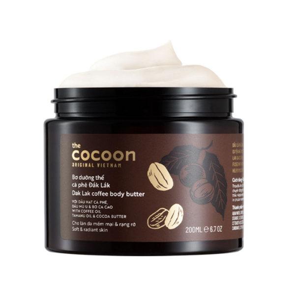 Bơ Dưỡng Thể Body Cà Phê Đắk Lắk Cocoon 200ml