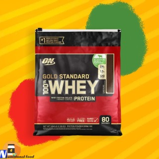 WHEY GOLD PROTEIN ISOLATE WHEY PROTEIN TĂNG CƠ WHEY ON OPTIUM NUTRITION GOLD STANDARD 100% 80 Serv 2.48KG-2.56KG thumbnail