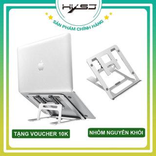 Đế tản nhiệt laptop macbook máy tính ( GIẢM GIÁ CỰC SỐC ) HXSJ X5P nhôm nguyên khối điều chỉnh 5 cấp độ cho máy 10-15,6 inch có thể gập gọn - Hàng chính hãng thumbnail