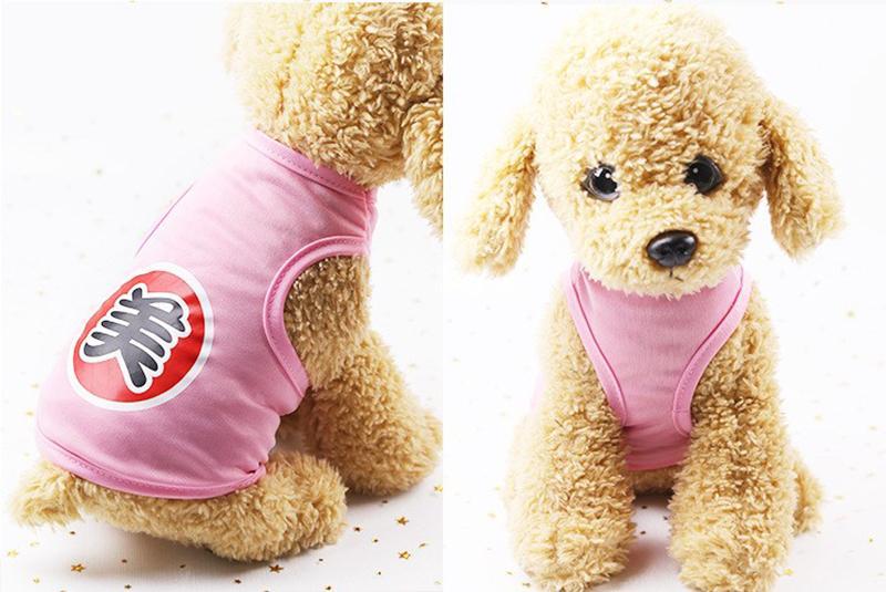 Áo Cho Chó Mèo Hoạt Hình Dễ Thương - TTTC4, phụ kiện, trang phục thú cưng siêu kute