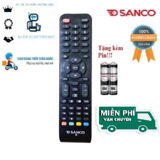Remote Điều khiển tivi Sanco LED LCD Smart TV- Hàng loại tốt mới 100% Tặng kèm Pin-Điện tử Alex thumbnail