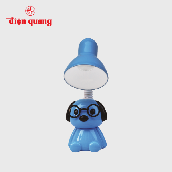 Đèn bàn bảo vệ thị lực Điện Quang ĐQ DKL17 BW (Kiểu con chó , bóng led warmwhite)