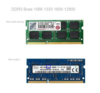 RAM LAPTOP DDR3 Buss 1066 1333 1600 1600L thumbnail