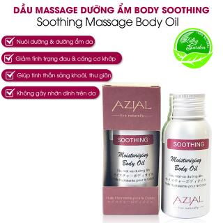 Dầu massage body AZIAL Soothing Moisturizing Body Oil 50ml, nuôi dưỡng, dưỡng ẩm, giảm đau nhức mỏi, thư giãn tinh thần thumbnail