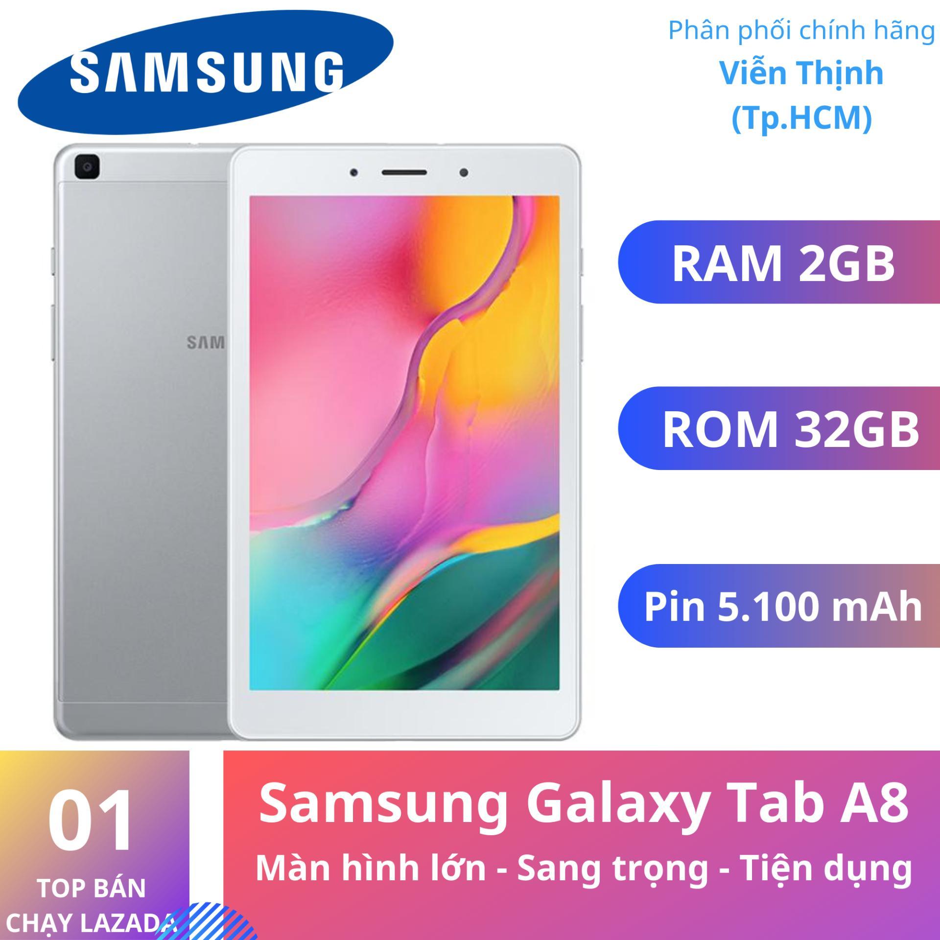 Máy tính bảng Samsung Galaxy Tab A8 8inch T295 2019 - Hàng chính hãng Nhật Bản