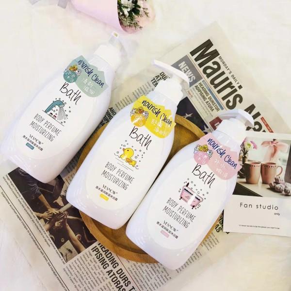 Sữa Tắm Dưỡng Ẩm Thơm Lâu Bath Yesnow - Sữa Tắm Dưỡng Ẩm