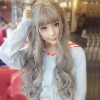 Tóc giả nữ Hàn Quốc + Tặng kèm lưới T179 thumbnail