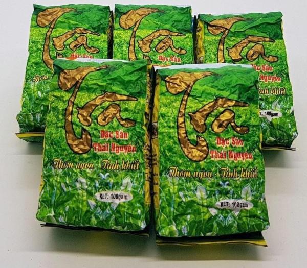 [4Healthy][CHÈ THÁI 100%]Đặc sản trà xanh Thái Nguyên loại 2 500G