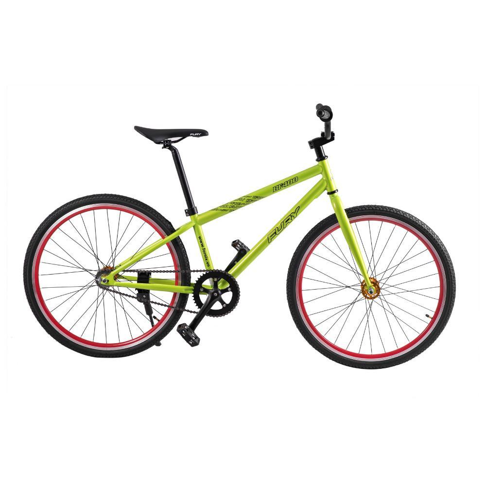 Mua Xe đạp fixed gear BF400 màu xanh lục sức trẻ