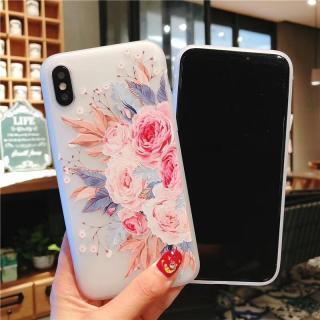Ốp lưng Iphone silicon hoạ tiết hoa nền trắng đẹp tinh khiết cho dòng iphone 6 6s 6Plus 6sPlus 7 7Plus 8 8Plus X XS xr xsmax 11 11pro 11promax 12mini 12pro 12promax 12 op38h thumbnail