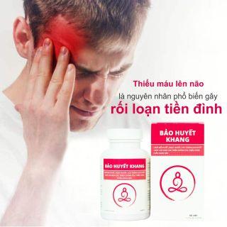 Bảo Huyết Khang - lưu thông khí huyết, tăng cường máu não, giúp ngủ ngon (Vỉ 20 viên) thumbnail