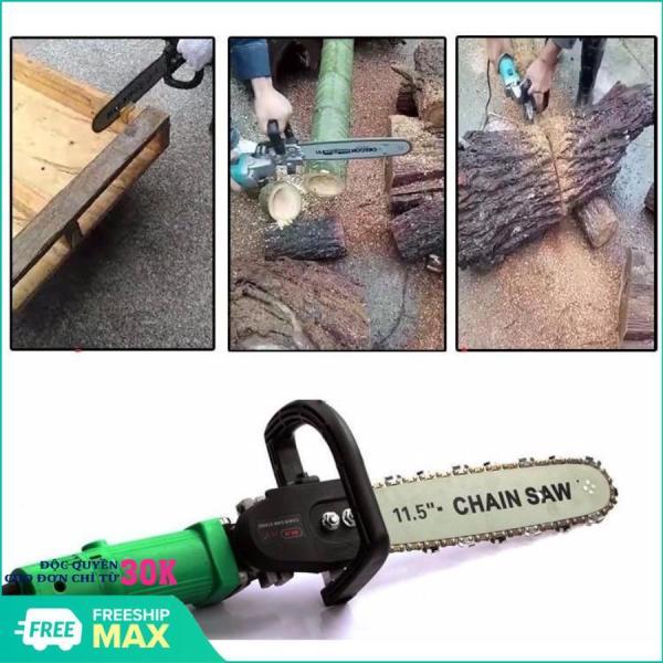 Bộ chuyển đổi máy mài góc thành máy cưa xích (Chain Saw 11.5 - 300mm)