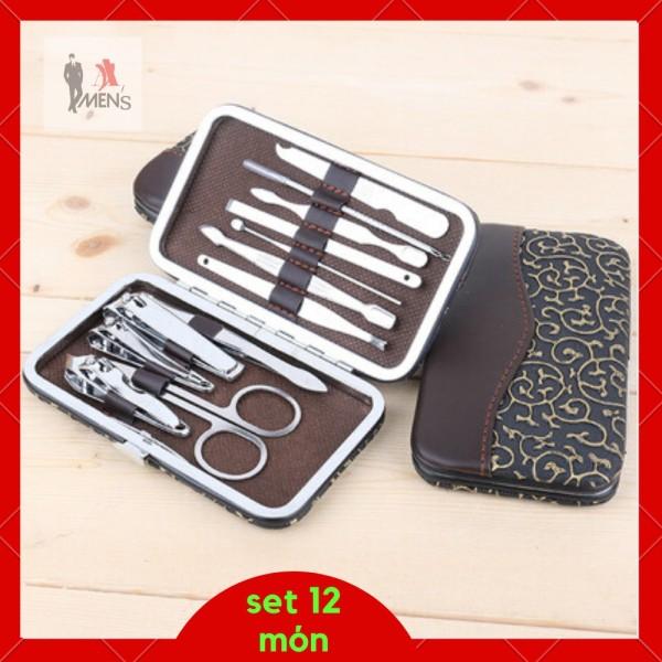 Bộ cắt móng tay đa năng 12 món cao cấp