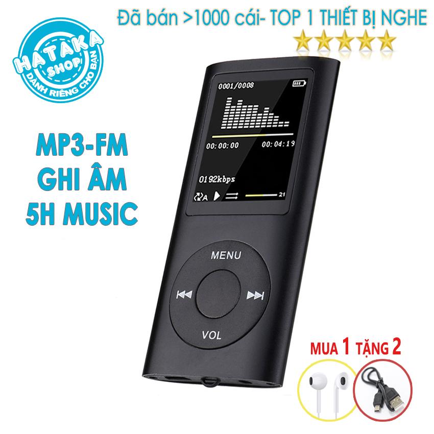 [Nhập ELAPR21 giảm 10% tối đa 200k đơn từ 99k]Máy nghe nhạc mp3 mp4 BTS-tặng tai nghe dây sạc-chức năng FM ghi âm xem ảnh đọc sách vỏ kim loại bền đẹp