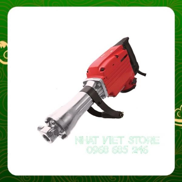 [MUA 1 TẶNG 2] Máy đục bê tông công suất lớn 1500w, OKEM 65 mm DBTOKEM bảo hành 6 tháng tặng 2 mũi đục _