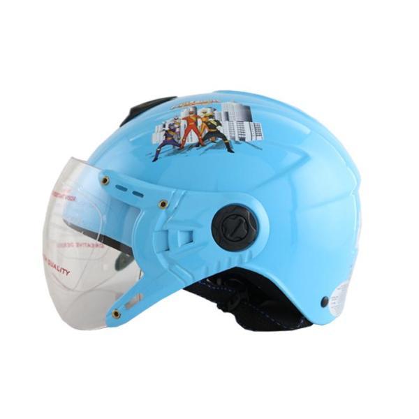 Giá bán Mũ bảo hiểm trẻ em hình siêu nhân cho bé trai có kính chính hãng Bktec nón bảo hiểm cao cấp