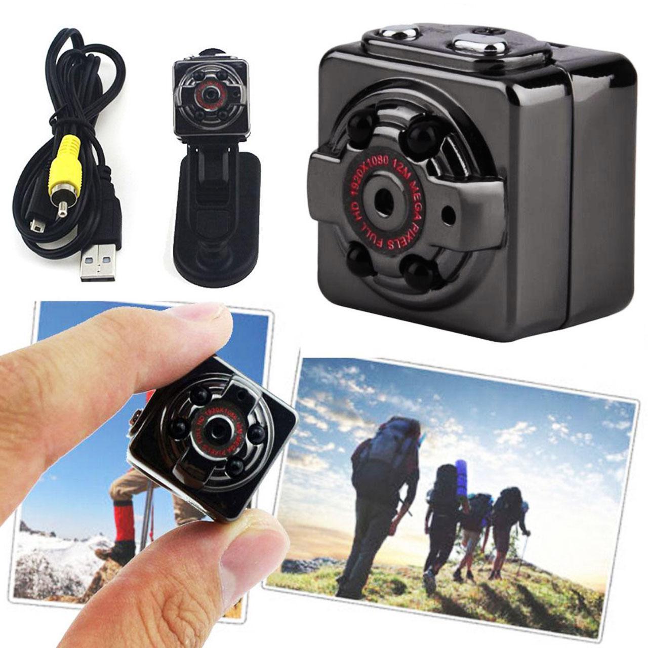 Camera Mini Siêu Nhỏ SQ8 HD1080P Hình ảnh Rõ Nét Quay Cả Ban Ngày Và Ban đêm - Camera Hành Trình Siêu Nhỏ - Camera ô Tô (camera Hành Trình Và Kiêm Camera An Ninh) Bất Ngờ Giảm Giá