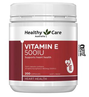 VITAMIN E HEALTHY CARE 500IU 200v mẫu mới tinh 2020 thumbnail