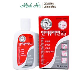 Dầu nóng xoa bóp Antiphlamine Hàn Quốc 100ml thumbnail