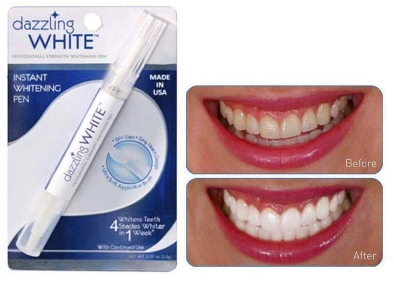 (LOẠI TỐT) Kem tẩy trắng trăng - Bút tẩy trắng răng Dazzling White cho răng trắng sáng TỰ TIN - AN TOÀN cho sức khỏe - cho hơi thở thơm mát chính hãng