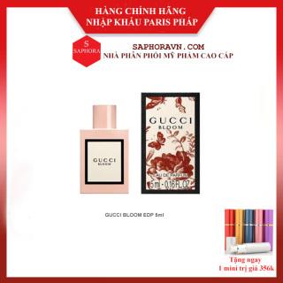 Nước Hoa Gucci Bloom Chính Hãng Lưu Hương Lâu Trên 18h Bản EDP 5ml thumbnail