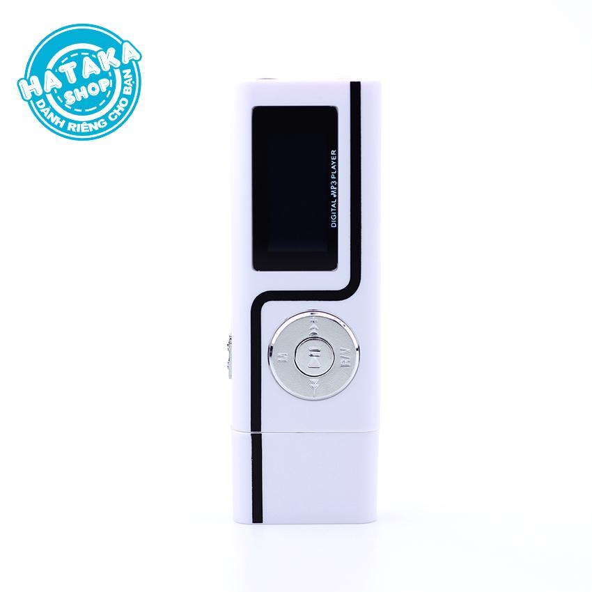 Máy Nghe Nhạc Mp3 USB Có Màn Hình 2 Cổng Tai Nghe Tặng 2 Tai Nghe Giá Sốc Nên Mua