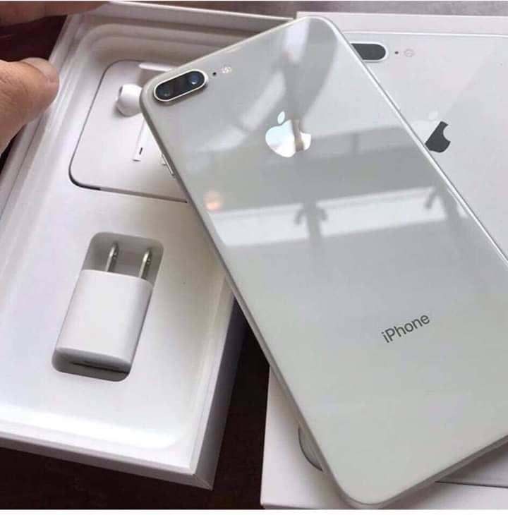 IPHONE8 PLUS TRẮNG 128GB ( TẶNG TAI NGHE BLUETOOTH,KÍNH CƯỜNG LỰC ỐP LƯNG)