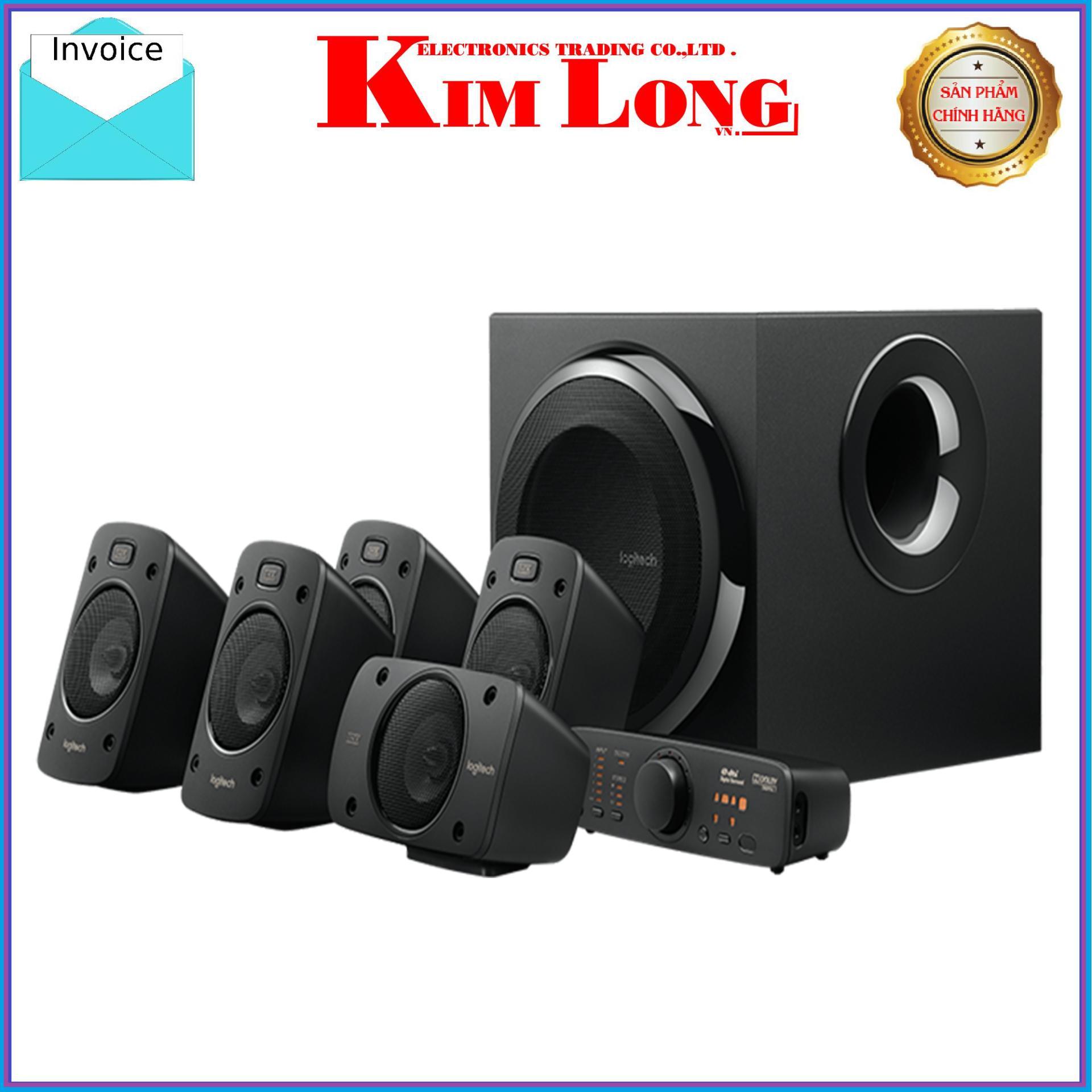Loa Vi Tính Logitech Z906 âm thanh 5.1 công xuất 1000W - Bảo hành 2 năm chính hãng