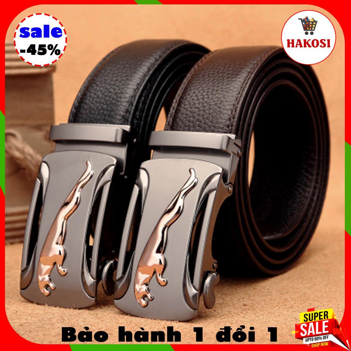 Thắt lưng nam da bò - dây nịt nam da bò tích hợp khóa tự động sang trọng đẳng cấp, thắt lưng da nam - TL01 Nhật Bản