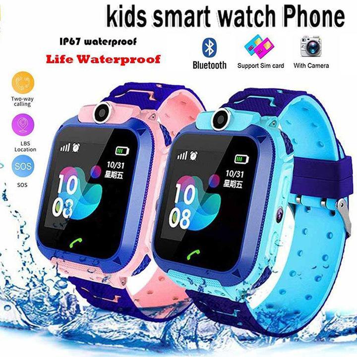 Giá Đồng hồ định vị thông minh Q12, định vị chông nước cho bé, có camera, ghi âm