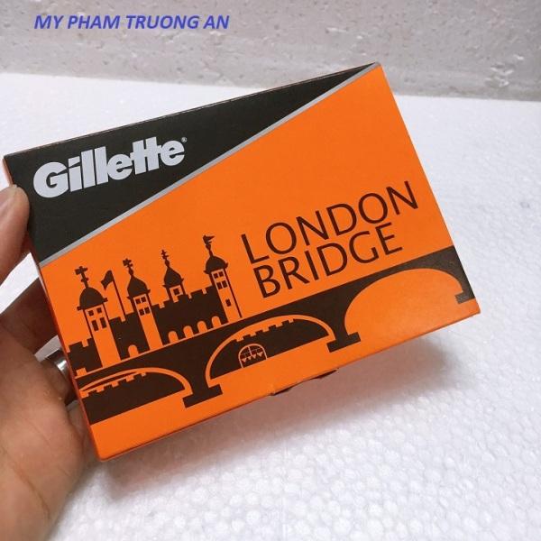 5 hộp dao lưỡi lam Gillette( 50 lưỡi)