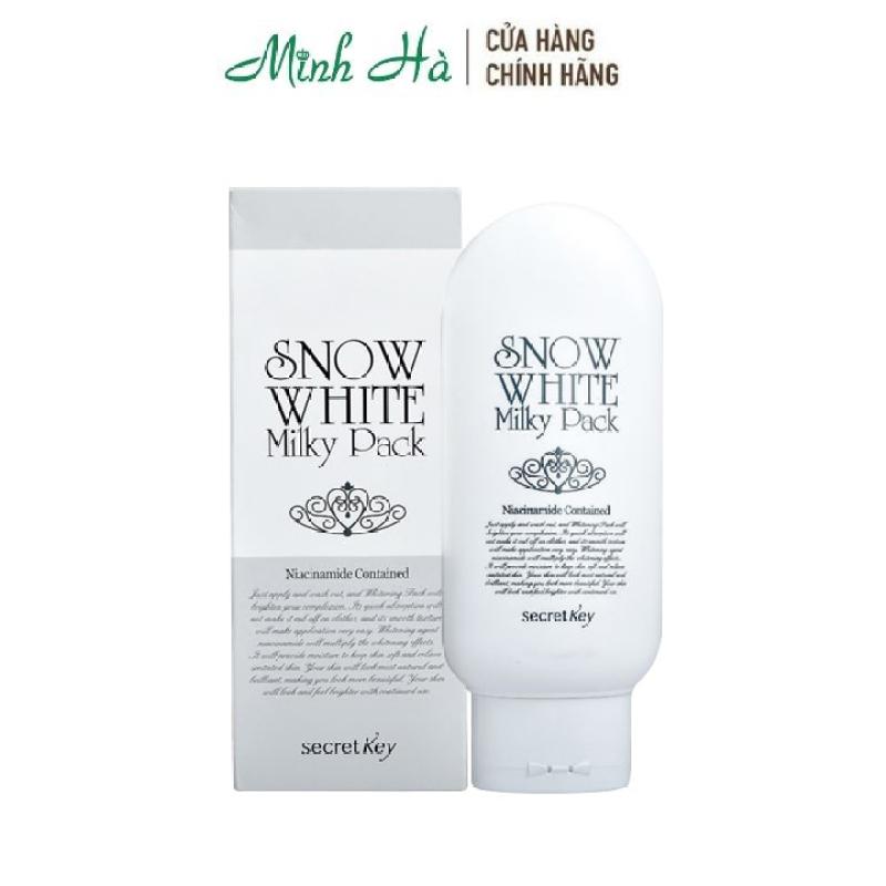 Kem dưỡng trắng toàn thân Secret Key Snow White Milky Pack 200g cao cấp