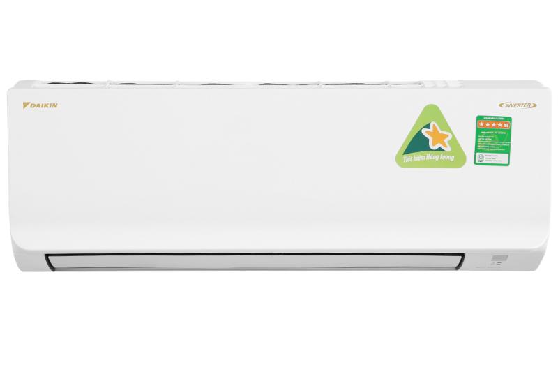Máy lạnh Daikin Inverter 1 HP ATKA25UAVMV Mới 2020. Tiện ích:Chế độ chỉ sử dụng quạt - không làm lạnh, Chức năng hút ẩm, Thổi gió dễ chịu (cho trẻ em, người già), Hẹn giờ bật tắt máy, Làm lạnh nhanh tức thì