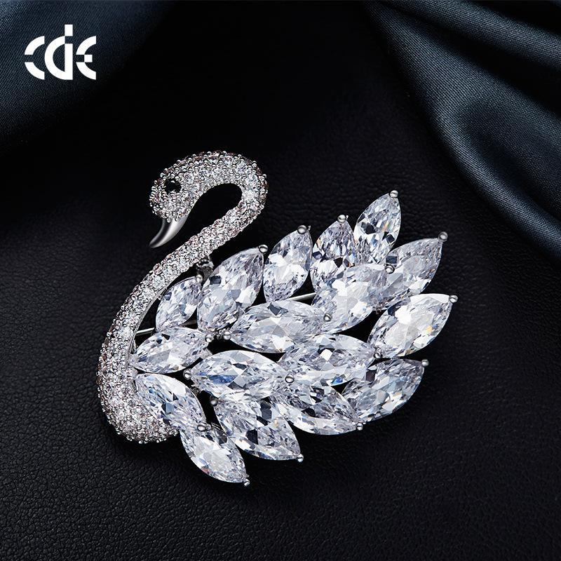 CDE Thiên Nga Hoa Cài Ngực Cài Ngực