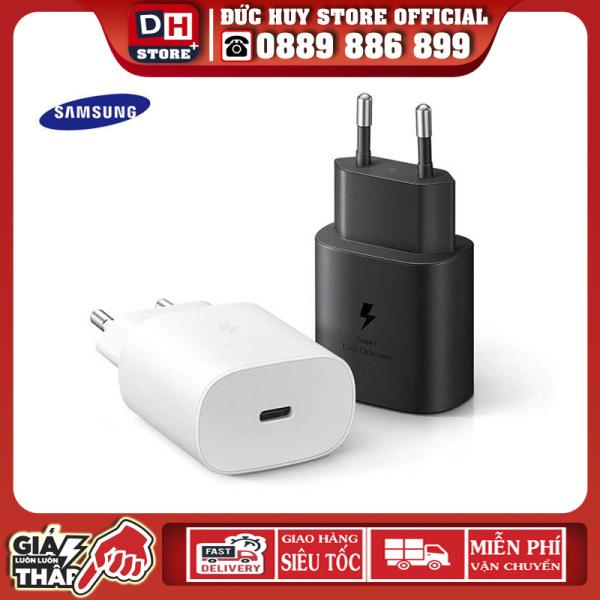 Sạc Siêu Nhanh Samsung 25W Chính Hãng Cho S21 Ultra, S21, Note 20...Bảo Hành 12 Tháng