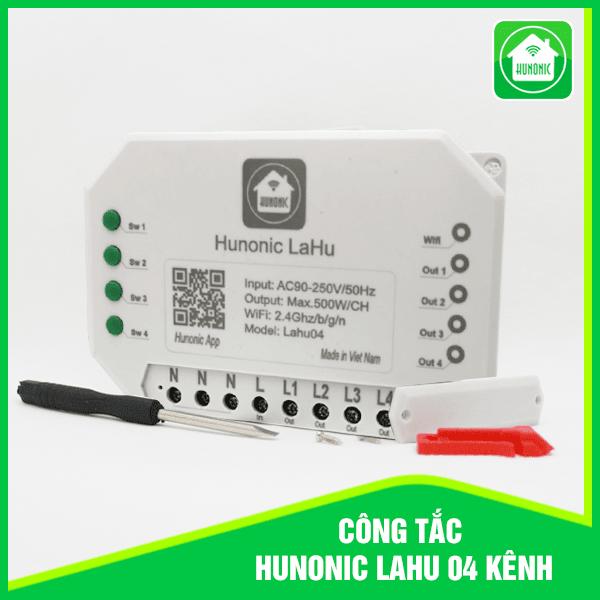 Công tắc wifi thông minh 4 kênh (500W/1 kênh) , bảo hành 1 đổi 1 trong 12 tháng , hotline hỗ trợ 0905323378