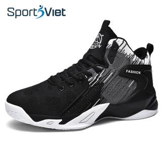 Giày bóng rổ nam - Giày bóng chuyền nam Sportsviet, giày thể thao nam cao cấp, đế cao su tổng hợp, form ôm chân thumbnail