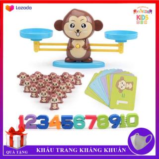 Bộ Đồ Chơi Khỉ Con Cân Bằng - Trò Chơi Toán Học Giúp Bé Say Mê Học Toán - Phát Triển, Giáo Dục Sớm Cho Trẻ Em thumbnail