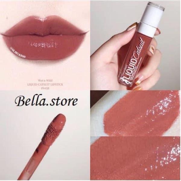 [Cedar Later] Son bóng Wet n Wild MegaLast Liquid Catsuit High-Shine Lipstick giá rẻ