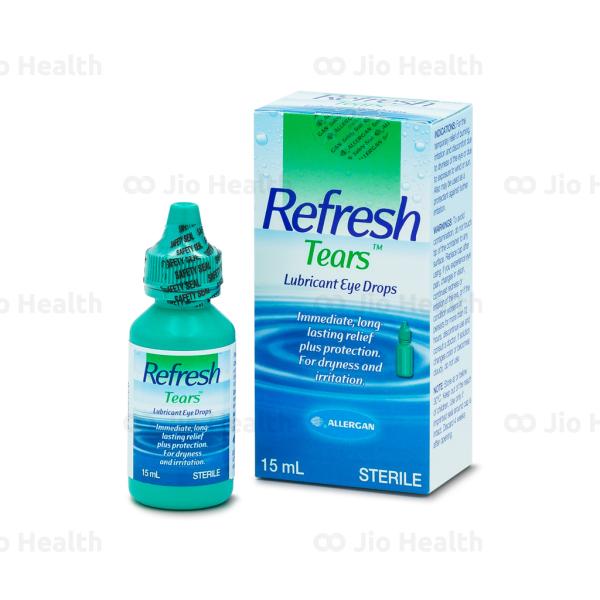 [HCM]Nước mắt nhân tạo refresh tear chất lượng đảm bảo an toàn đến sức khỏe người sử dụng cam kết hàng đúng mô tả