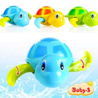 Rùa bơi vặn dây cót đáng yêu đồ chơi bồn tắm cho bé bằng nhựa nguyên sinh ABS an toàn đủ màu sắc kích thích trí não phát triển Baby-S SDC021 thumbnail