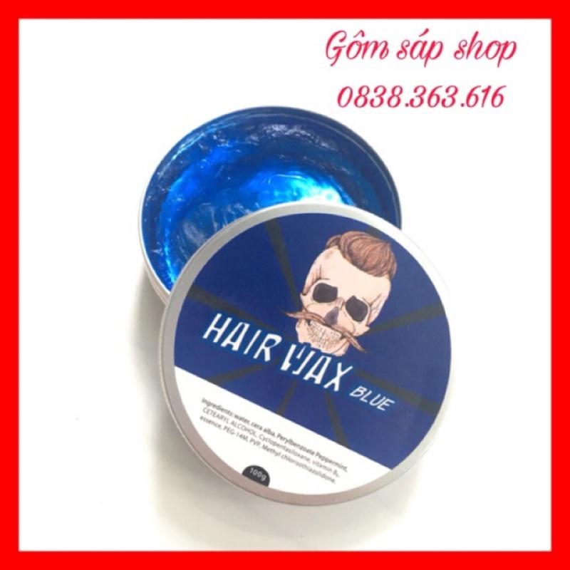 Sáp Vuốt Tóc SIÊU HOT HAIR WAR BLUE (CHẤT MÀU XANH)/100Gwax vuốt tóc/ keo vuốt tóc/ sap vuot toc nhập khẩu