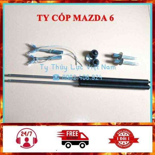 [Mazda 6 2014-2020] Bộ Ty Thủy Lực, Ben Hơi, Ty Cốp Sau Cho Xe Mazda 6 2014-2020