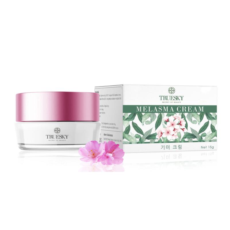 Kem làm mờ nám da Truesky chiết xuất hoa anh đào giúp dưỡng trắng da, làm mờ thâm nám, chống lão hoá 8g - Melasma Cream